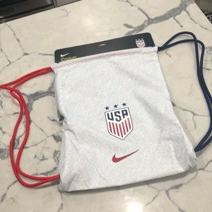 Nike stadium USA soccer drawstring backpack 🇺🇸